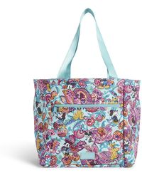 Vera Bradley Disney Drawstring Family Tote Bag - Blue