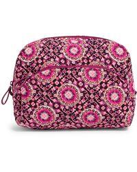 Vera Bradley Large Cosmetic Bag Bag - Pink