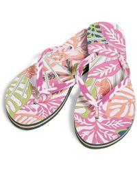 Vera Bradley Flip Flops - Pink