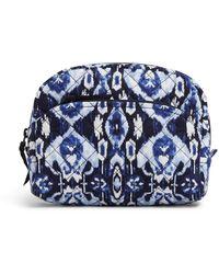 Vera Bradley Medium Cosmetic Bag - Blue