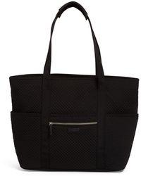 Vera Bradley Get Carried Away Tote Bag - Black