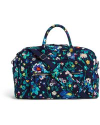 Vera Bradley Compact Weekender Travel Bag - Blue