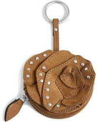 Vera Bradley Rosy Outlook Bag Charm Studded - Multicolor