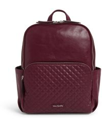 Vera Bradley Carryall Backpack - Red