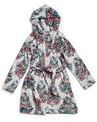 Vera Bradley Harry Pottertm Hooded Fleece Robe - Blue