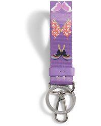 Vera Bradley Loop Keychain - Purple