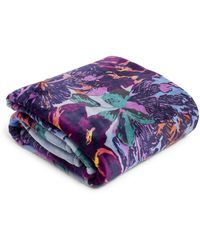 Vera Bradley Plush Throw Blanket - Multicolor