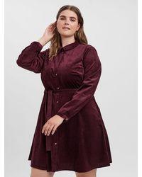 Vero Moda Shirt mini dress - Lila