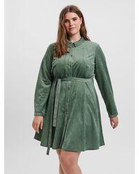Vero Moda Shirt mini dress - Grün