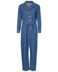 Vero Moda Denim Jumpsuit - Blau