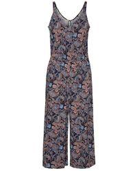 Vero Moda Bedrukte Culotte Jumpsuit - Blauw