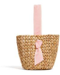 Veronica Beard Petite Isla Bahia Basket - Pink