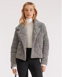 Veronica Beard Marshal Coat - Metallic