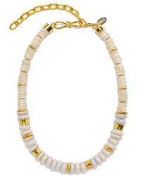 Veronica Beard Lizzie Fortunato Refresh Pearl Necklace - White