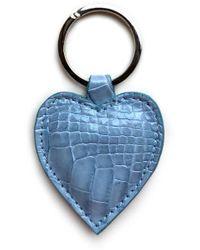 Veronica Beard Sable The Love Keychain - Blue