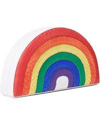 Veronica Beard Rainbow Clutch Gelareh Mizrahi - Multicolor