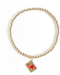 Veronica Beard - Rachel Cagner Ace Of Hearts Bracelet - Lyst