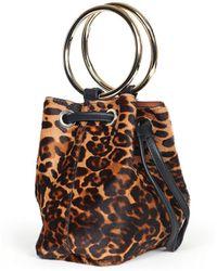 Veronica Beard - Leopard Bucket Bag Maison Boinet - Lyst