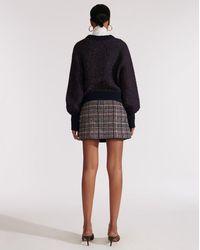 Veronica Beard Beckia Sweater - Blue