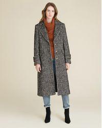 Veronica Beard Anissa Dickey Coat - Black