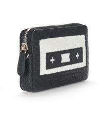 Veronica Beard Cassette Key Pouch Gelareh Mizrahi - Black