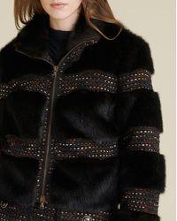 Veronica Beard Fraya Faux Fur Coat - Brown