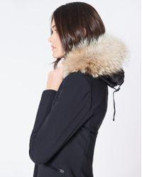 Veronica Beard Scuba Dickey Jacket With Puffer Hoodie Dickey - Black