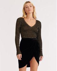 Veronica Beard Vega Skirt - Black