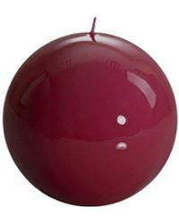 Veronica Beard Meloria Graziani Ball Candle - Red
