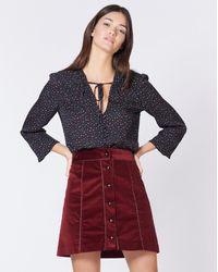 Veronica Beard Hatcher Skirt - Red