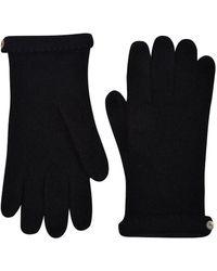Veronica Beard Cashmere Gloves - Black