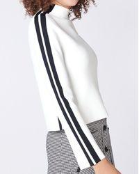 Veronica Beard Retha Sweater - White