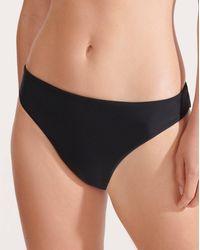 Veronica Beard Marau Bikini Bottom - Black