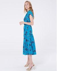 Veronica Beard Meagan Dress - Blue