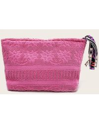 Veronica Beard Lalla Marrakech Walakin Eponge Clutch - Pink