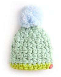 Veronica Beard Kids Half Line Hat - Multicolor