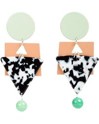 Veronica Beard - Cleopatra Earrings Bianca Mavrick - Lyst