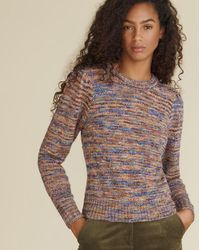 Veronica Beard Raissa Space-dyed Pullover - Multicolor
