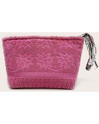 Veronica Beard Lalla Marrakech Petit Walakin Eponge Clutch - Pink