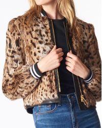 Veronica Beard Etta Fur Jacket - Multicolour