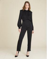 Veronica Beard Kavia Jumpsuit - Black
