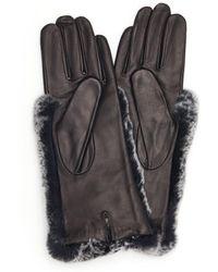 Veronica Beard Snow Top Glove Carolina Amato - Black