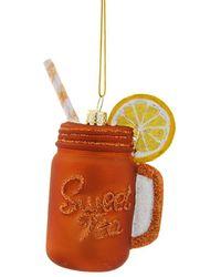 Veronica Beard Sweet Tea Ornament - Orange