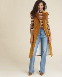 Veronica Beard Fayette Corduroy Vest - Multicolour