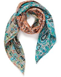 Veronica Beard Granny Smith Foulard Scarf - Multicolour