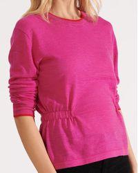 Veronica Beard Charlene Pullover - Pink