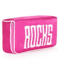 Veronica Beard Rocks Jewelry Bag Leontine Linens - Pink