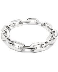 Veronica Beard Jenny Bird Mega Link Silver Necklace - Metallic