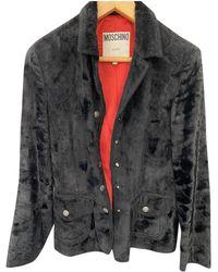 Moschino - Vest en Coton Noir - Lyst