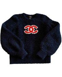 Chanel Wool Sweater - Blue